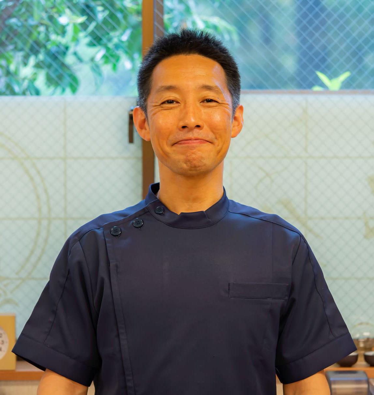 鍼灸師吉田啓の顔写真です